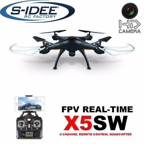 s-idee 01519 X5SW Quadrocopter X5W Wifi Kamera Syma X5W Headless Mod ähnlich wie X5C nur mit Wifi, 3